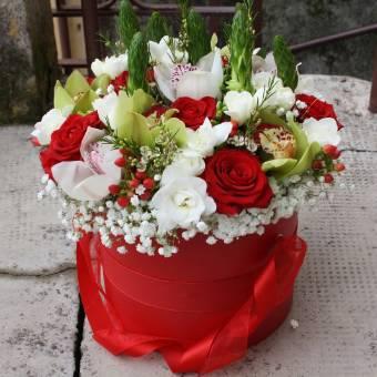 flowers box cappelliera di fiori