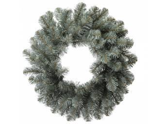 corona noble per decorazioni di natale effetto abete diametro 45 cm