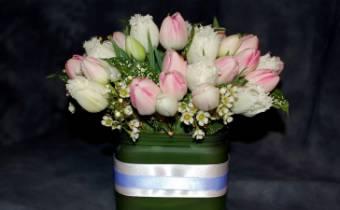 tulipani in vetro
