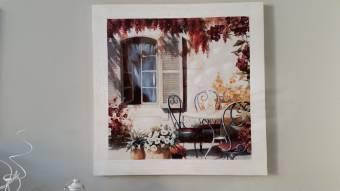 Quadro provenzale francese casa progetti in fiore di for Casa provenzale francese