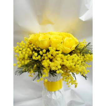 bouquet mimosa4