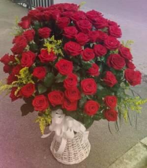 cesto 101 rose