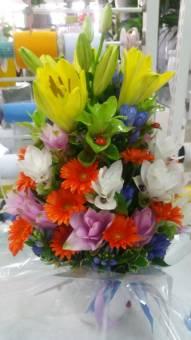fascio fiori di campo