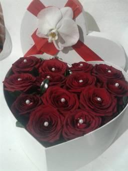 flowerbox a forma di cuore