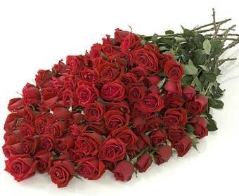 Fascio di rose di grande dimensione