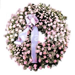 corona funebre rose miste