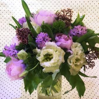 Bouquet Sweet Purple