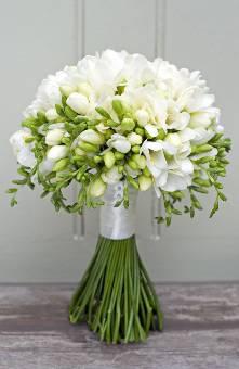 Bouquet fresie bianche