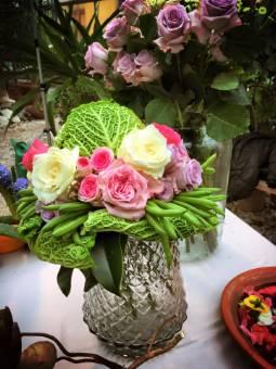 Bouquet con verdure