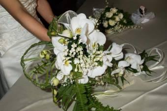 bouquet sposa cuore
