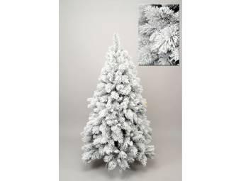 albero/abete di natale con neve everest altezza 150