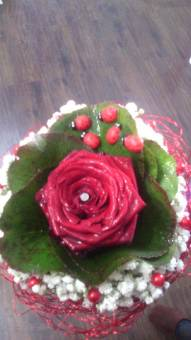 rosa bouquet corta
