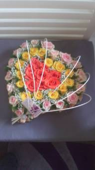 cuore rose mix