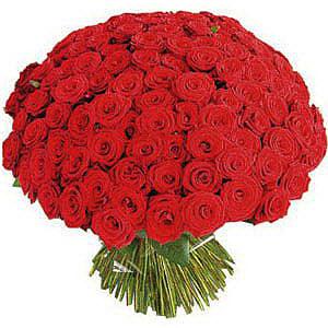 bouquet di ROSE ROSSE 50-60 cm